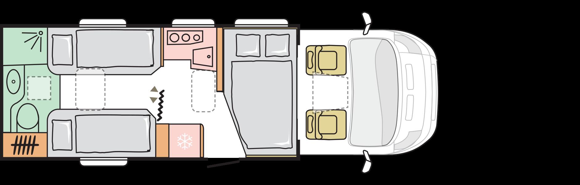 B8AASM1500ZN00 N | Camper Deluxe